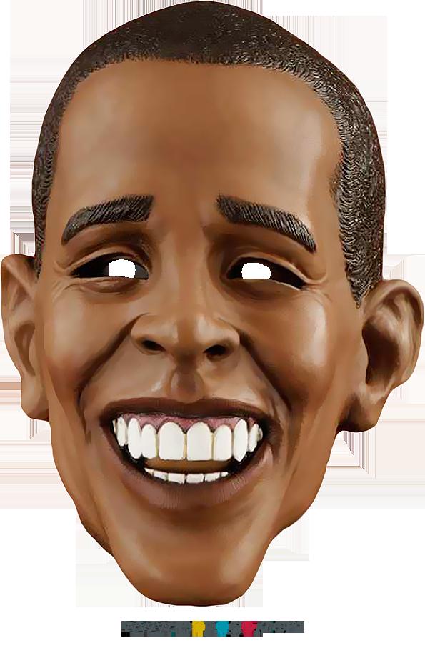 Barack Obama Maskesi PNG
